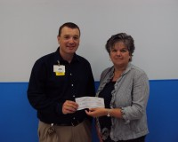 CRC Receives Grant From Walmart Supercenter