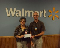 CRC Receives Grant from Wal-Mart Distribution Center #6027